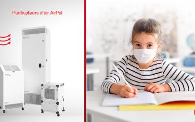 Nouveauté 2021 : purificateurs d'air